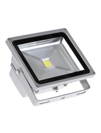Прожектор LED PFL-10W/CW/GR Jazzway
