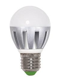 Лампа LED Jazzway шар G45 6w, E27, хол.