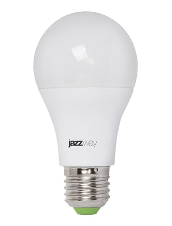 Лампа LED Jazzway диммируемая груша PLED- DIM A60 10Вт 6500K 840 Lm E27 230В