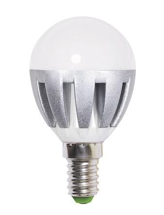 Лампа LED Jazzway шар G45 6w, E14, хол.