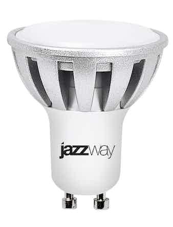 Лампа LED Jazzway 7w, GU10, тепл.