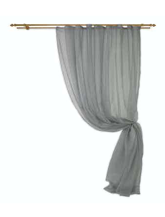 Штора Rain 024 Tule T 280х280 серый