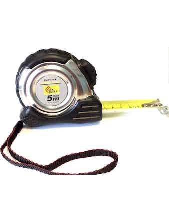 Рулетка Accurate автостоп магнит 5 м х 25 мм