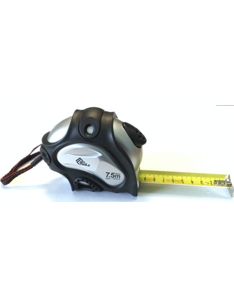 Рулетка Accurate автостоп профессиональная 7,5 м х 25 мм