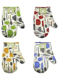 Прихватка-рукавица Макси микс, 21 х 29 см