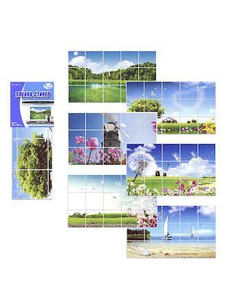 Защитная пленка-стикер Пейзаж, 75 х 45 см