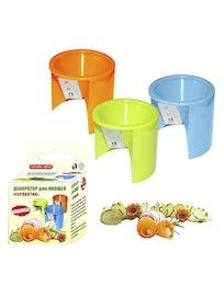 Декоратор для овощей Серпантин, 6 х 5 см