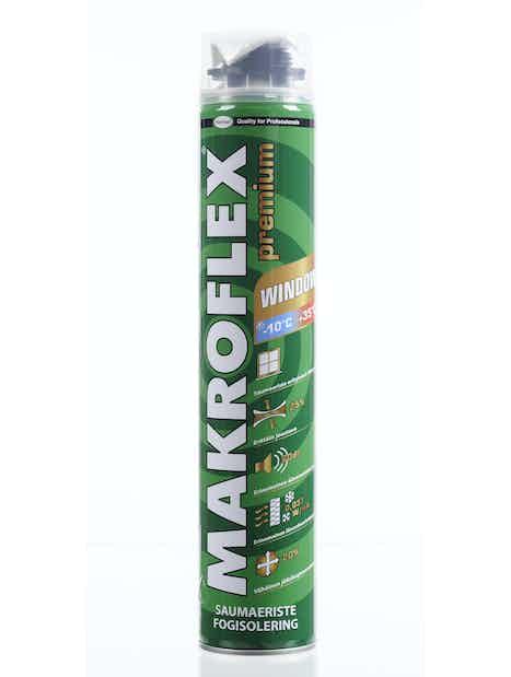 URETAANIVAAHTO MAKROFLEX 750ML WINDOW