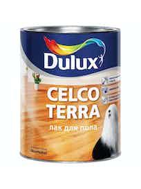 Лак паркет Celco Terra Dulux 1 л