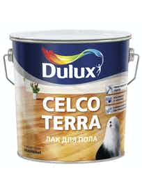 Лак паркет Celco Terra Dulux 10 л