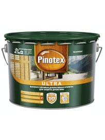 Антисептик Pinotex Ultra Рябина, 9 л