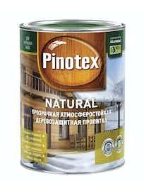 Пропитка для древесины декоративно-защитная прозрачная PINOTEX NATURAL 1л