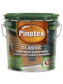 Пропитка для древесины Pinotex Classic, бесцветная, 2,7 л