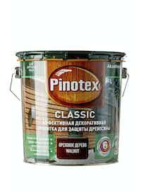Пропитка для древесины Pinotex Classic Орех, 2,7 л