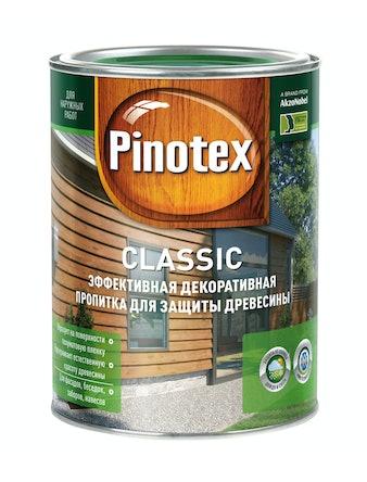 Антисептик Pinotex Classic махагон 1 л