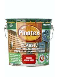 Пропитка для древесины Pinotex Classic Рябина, 2,7 л
