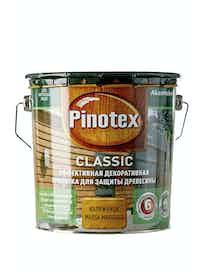 Пропитка для древесины Pinotex Classic Калужница, 2,7 л