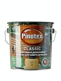 Пропитка для древесины Pinotex Classic Дуб, 2,7 л