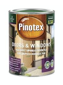 Пропитка для дверей и оконных рам PINOTEX Doors&Windows бесцветный CLR 1л