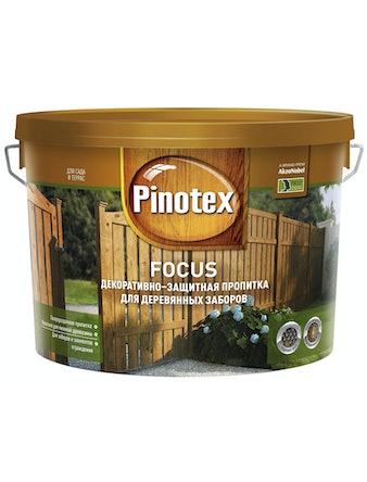 Пропитка декоративно-защитная для деревянных заборов Pinotex FOCUS Рябина 10л