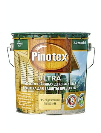 Антисептик Pinotex Ultra бесцветный, 2,7 л