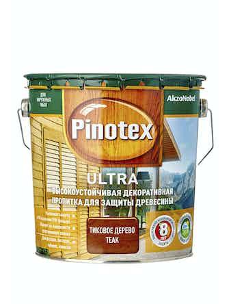 Антисептик Pinotex Ultra тик,, 2,7 л