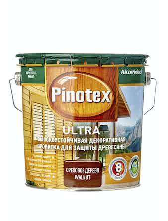 Антисептик Pinotex Ultra орех, 2,7 л