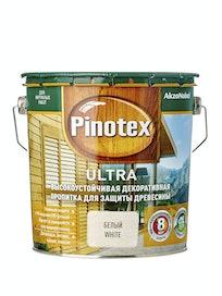 Антисептик Pinotex Ultra белый, 2,7 л