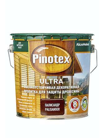 Антисептик Pinotex Ultra палисандр, 2,7 л