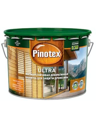 Антисептик Pinotex Ultra махагон 10 л