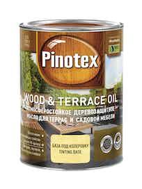Масло деревозащитное для террас и садовой мебели Pinotex Wood&Terrace Oil бесцв. 1л