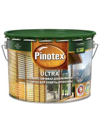 Антисептик PINOTEX Ultra Сосна 10 л