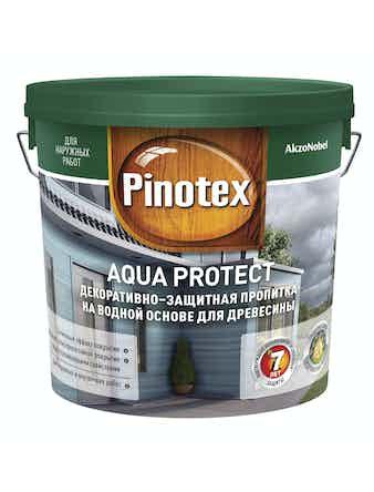Антисептик Pinotex Aqua Protect CLR, 2,7 л