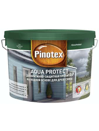 Антисептик Pinotex Aqua Protect CLR, 9 л