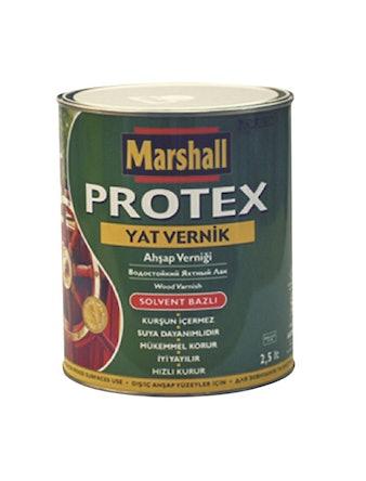 Лак яхтный алкидно-уретановый Marshall Protex YAT VERNIK 90 глянцевый 2,5л