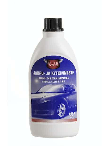 JARRU- JA KYTKINNESTE SUPER POWER DOT-4 0,5L