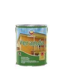 Краска для деревянных фасадов Eskaro Veranda, 2,7 л