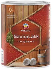 Лак акриловый п/мат. Eskaro SaunaLakk