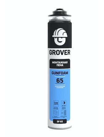 Пена монтажная GROVER GF65 профессионал 750 мл
