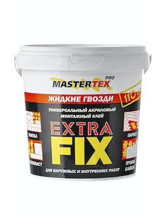Клей Mastertex PRO EXTRAFIX белый, 1,5 кг