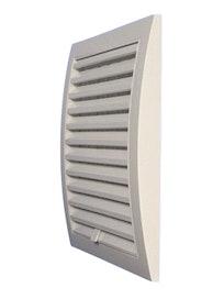 Решетка вентиляционная EUROPLAST ND12 фланец 125