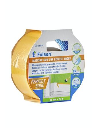 Лента малярная Folsen для особо точных работ 38 мм, 25 м