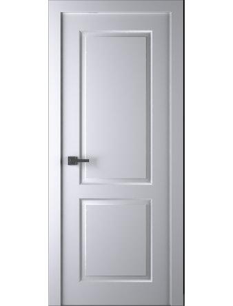 Дверное полотно Belwooddoors Alta, глухое, эмаль, 800 х 2000 мм, белое