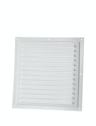Решетка вентиляционная Вентс МВМ 250 с, 250 х 234 мм, металлическая, белая