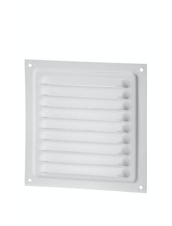 Решетка вентиляционная Вентс МВМ 150 с, 150 х 136 мм, металлическая, белая