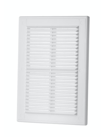 Решетка вентиляционная Вентс MB 125 с, 251 х 182 мм, белая