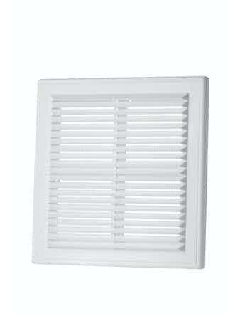Решетка вентиляционная Вентс MB 150 с, 204 х 204 мм, белая