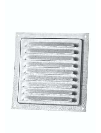 Решетка вентиляционная Вентс МВМ 150 с Ц, 150 х 136 мм, металлическая, белая