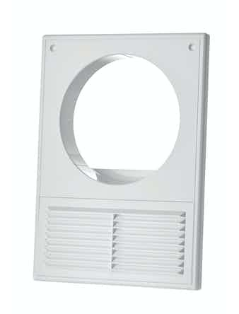 Решетка вентиляционная MB125Кс 6526, 180 х 250/125 мм