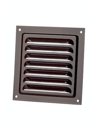 Решетка металлическая МВМ 125c, коричневая